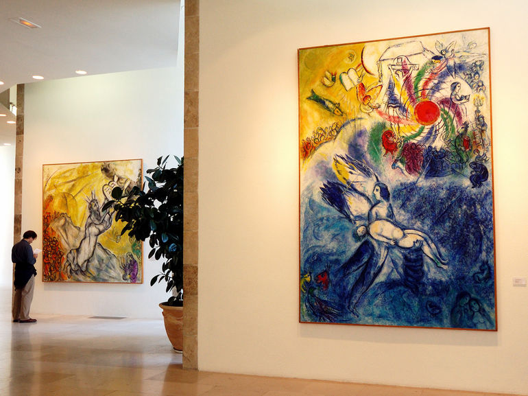 A flight of fantasy. Marc Chagall and Nice. | thetravelcrew Chagall Museum Nice
