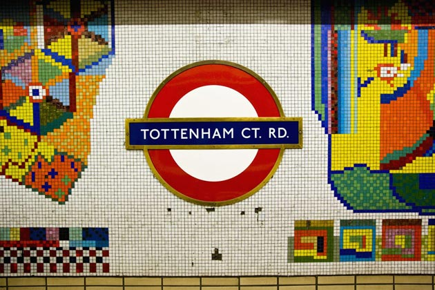 Mosaics by Eduardo Paolozzi created in 1984.