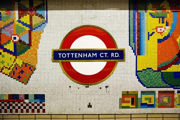 Mosaics by Eduardo Paolozzi created in 1984.