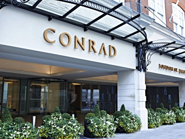 Conrad London St. James Exterior